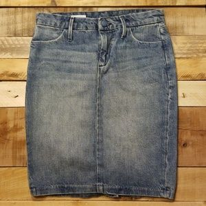 Gap denim skirt 0